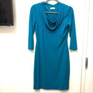 Calvin Klein Scoopneck Dress